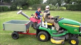 Tracteur Tondeuse - Ensilage 2014