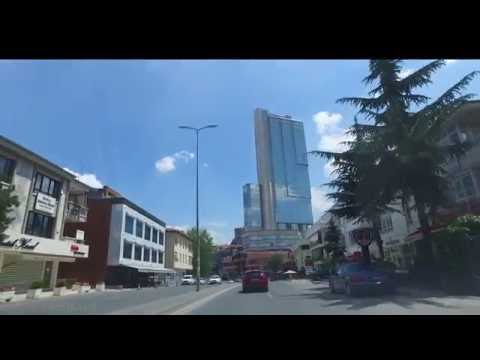 Çankaya ANKARA  Caddeleri Hoşdere den  Köroğlu na