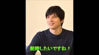 城田優さんに、「10年後は何をしたいか?」と質問をした 瞬間の、城田さ...