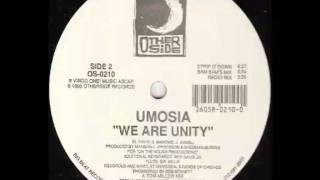 Umosia - We Are Unity (Miller Mix)