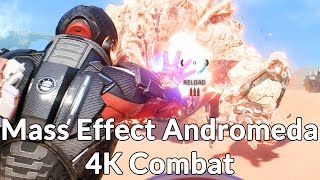 Mass Effect: Andromeda - 4K Exploration & Combat Gameplay