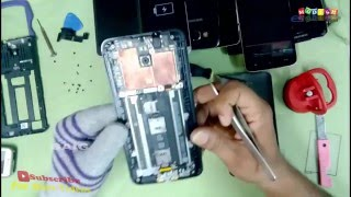 Asus Zenfone 2 Disassembly !! Battery And Charging Pin replacement