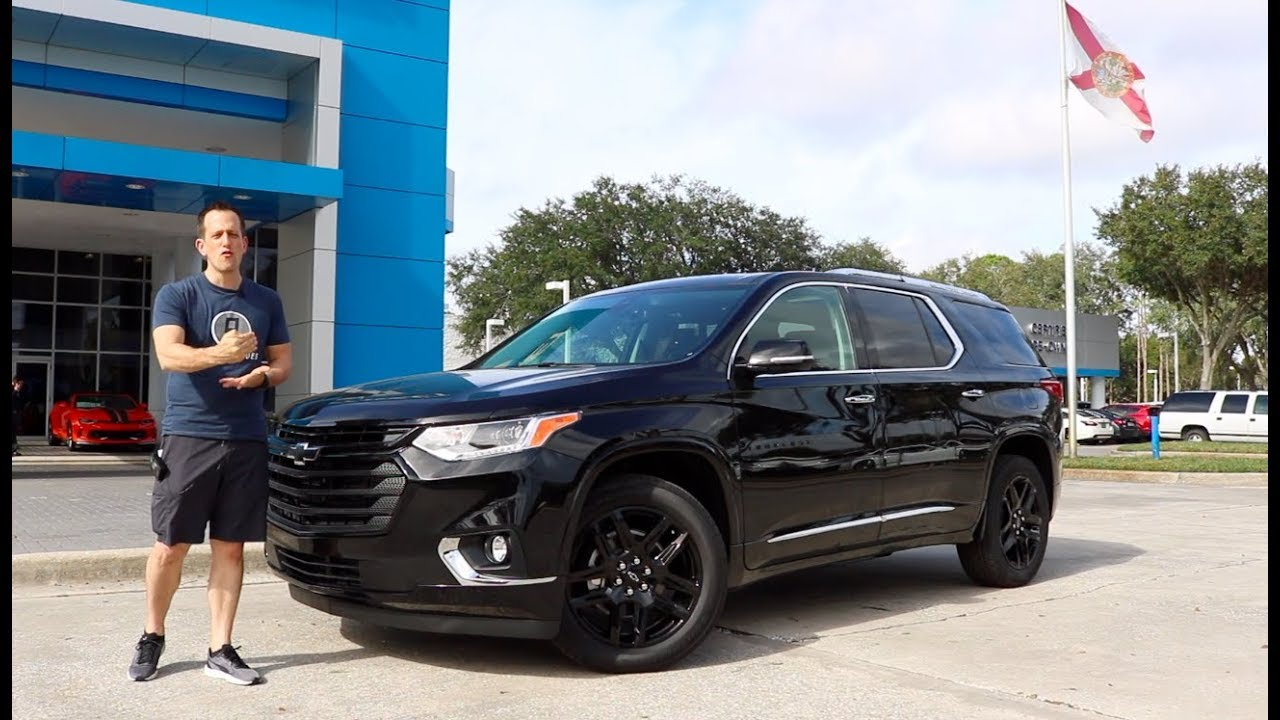 is the 2019 chevy traverse the best 3-row suv for the money