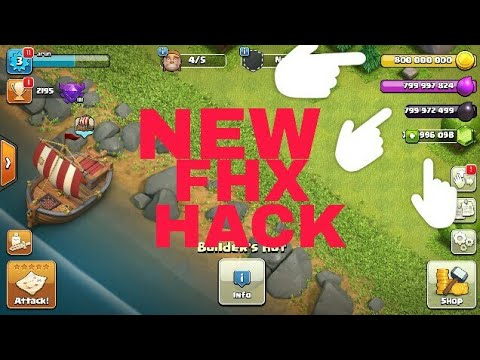 How To Hack Clash Of Clans FHX -  2017