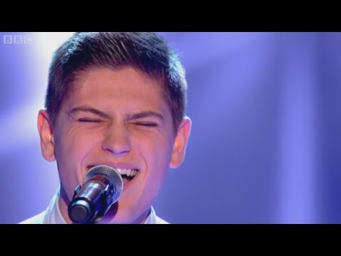 Jake Shakeshaft perfoms 'Thinking Out Loud'  by Ed Sheeran The Voice UK 2015  Blind Auditions