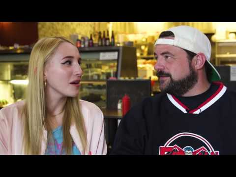 Harley Quinn and Kevin Smith for Compassionate Meals