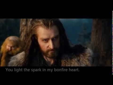 Thorin/Bilbo Bonfire hearts