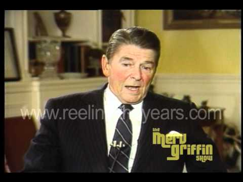 Pres. Ronald Reagan Interview (Merv Griffin Show 1983)