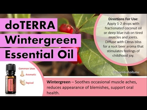 fascinating-doterra-wintergreen-essential-oil-uses