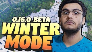 PUBG MOBILE LIVE: 0.16.0 BETA NEW UPDATE WINTER MODE | SEASON 10 ROYAL PASS | RAWKNEE