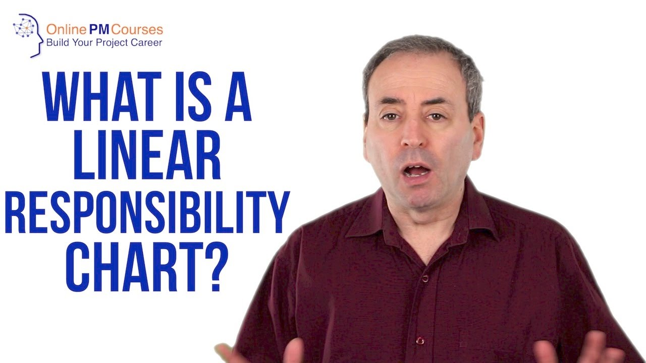 What is a Linear Responsibility Chart? PM in Under 5. Knowing who is slated to do what is a crucial part of project management. Following our earlier video on RACI Charts, this video looks at RACI's cousin the L.... Youtube video for project managers.