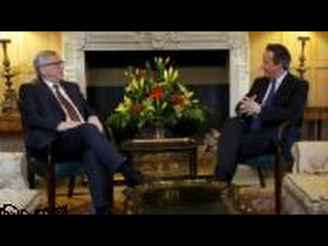 Cameron Tells EU Chief Europe Must Change