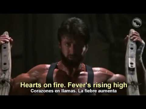 John Cafferty  Rocky IV  Hearts on Fire  Subtitulado Español & Inglés