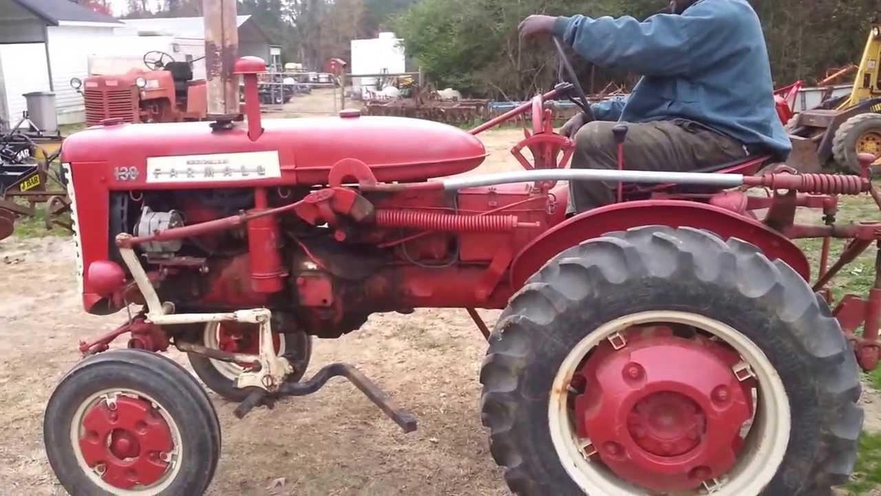 Farmall 130 Tractor : Farmall tractor youtube