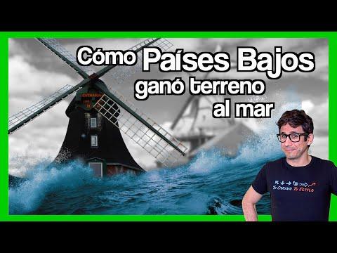 🌊 Cómo PAÍSES BAJOS ganó terreno al mar