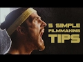5 Simple Filmmaking Tricks