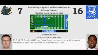 week 6 kansas city knights 3 2 melbourne uni royals 3 2