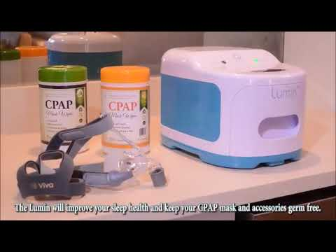 Lumin CPAP cleaner reviews - 3B CPAP Mask Sanitizer