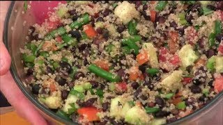 How To Make Quinoa Black Bean Salad