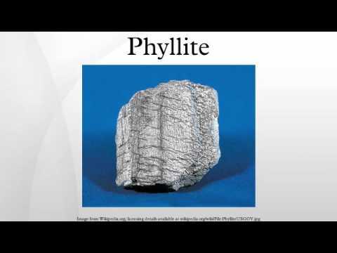 Phyllite - YouTube