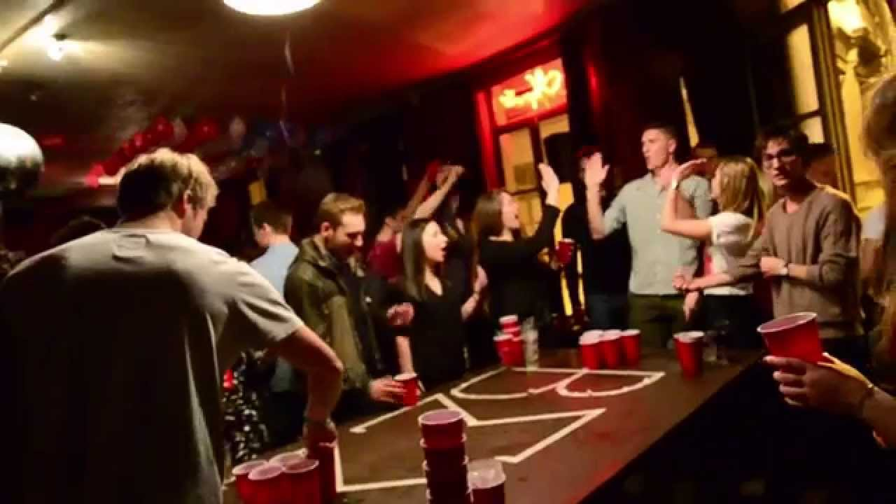 pong party Beer college