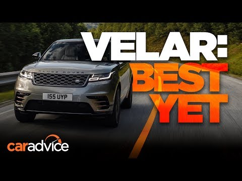 Range Rover Velar review | First look!
