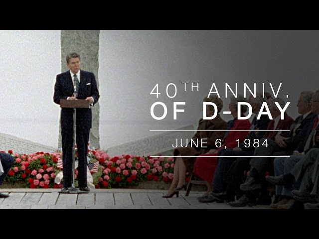 President Reagan's Faith-Filled 1984 D-Day Speech Still