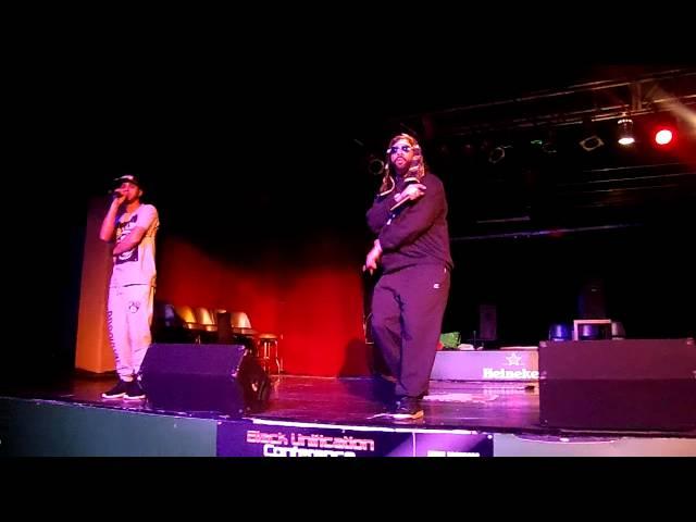 AMUN-RA ft Daniel the Prophet Live @ The Atrium (The Game Changer Black Unification Conference)
