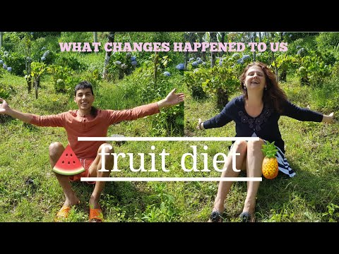 How the FRUIT ONLY DIET is affecting us? 🍒💛
