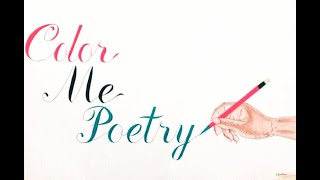 Color Me Poetry- (Poetry Books) pt 2