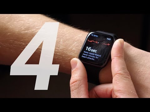 Apple Watch Series 4 ECG Demo! (watchOS 5.1.2)