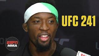 Sodiq Yusuff inspired by Kamaru Usman, Israel Adesanya | UFC 241 | ESPN MMA