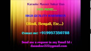 Chand Tare Phool Shabnam Karaoke by Ankur Das 09957350788