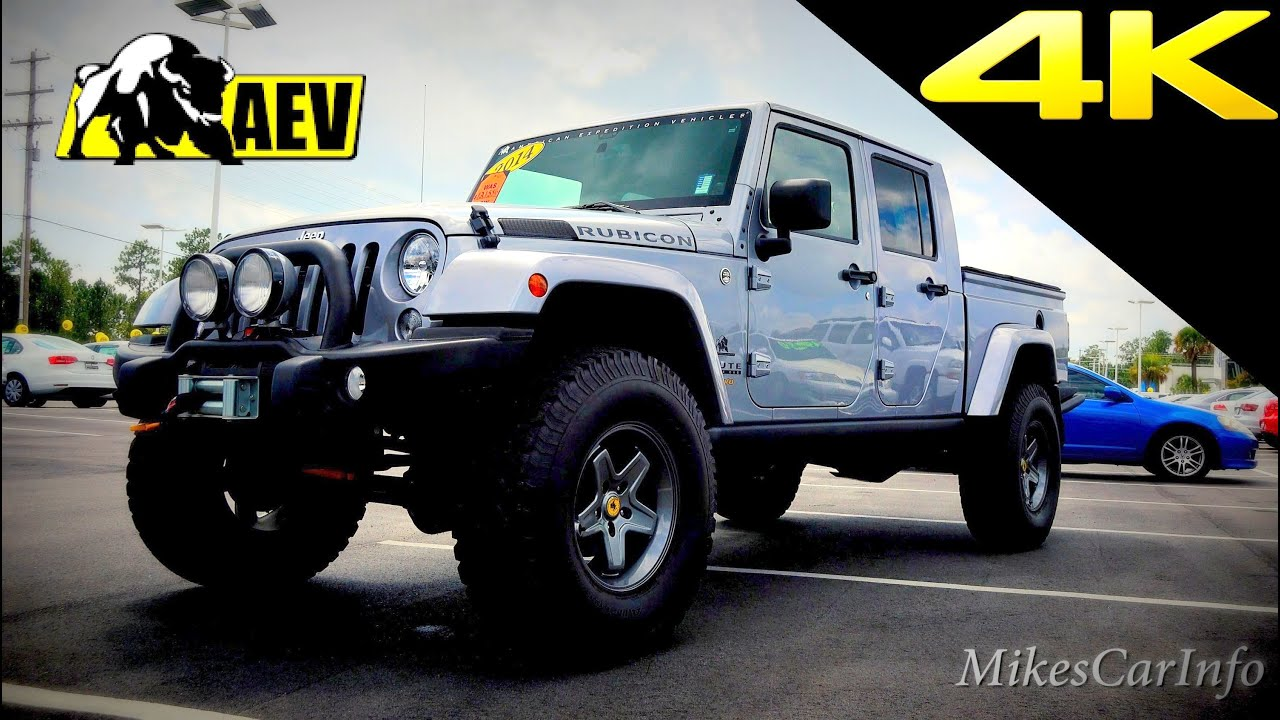 Jeep Truck AEV Brute Double Cab Quick Look in 4K