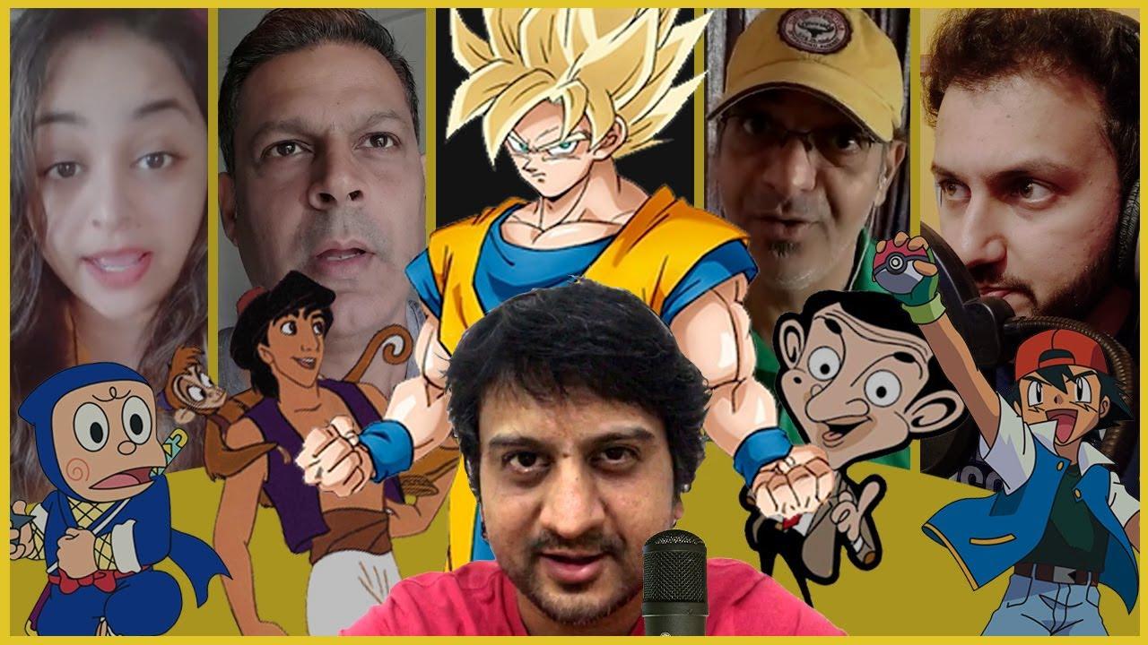 TOP 30 Cartoon/Anime characters | LIVE HINDI DUBBING