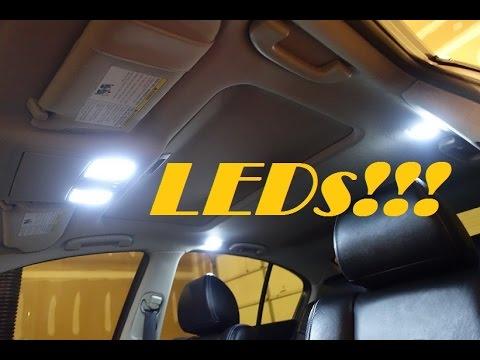 Infiniti G37 LED Bulb Swap/Install