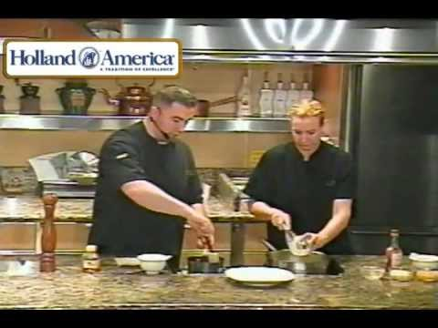 Chicken Croqeuttes: Celebrity Guest Chefs, Holland America Cruise Ship, Maasdam, 01/2013