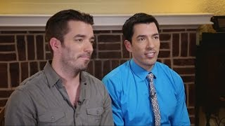 Behind the Scenes with Property Brothers on the Job | ABC News