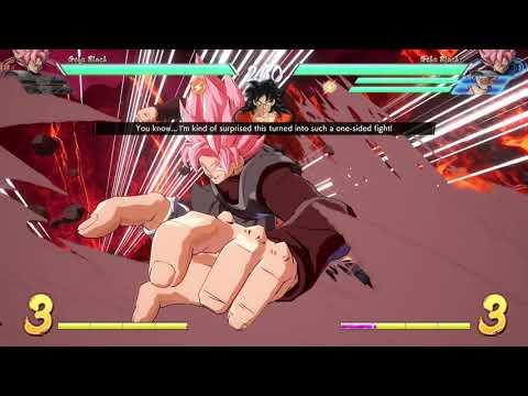 Dragon Ball FighterZ Online! J-AERIAL (Goku, Gohan, Goku Black) VS The World! #100 (First Perfect)