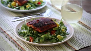 Salmon Recipes - How to Make Blackened Salmon Fillets