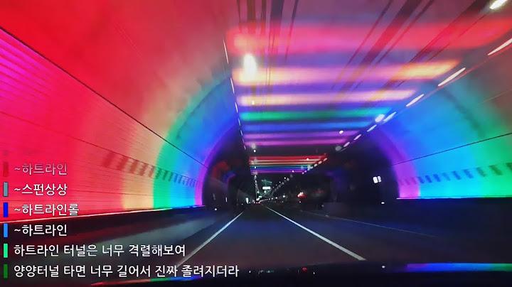 🏞️ 강원도 터널 69개 지나는 영상