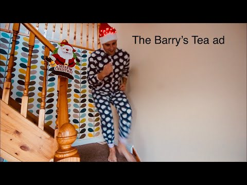 The famous Barry's Tea radio advert has made it to film at last....*