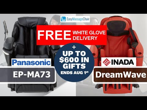 Panasonic MA73 vs Inada DreamWave Massage Chair Comparison