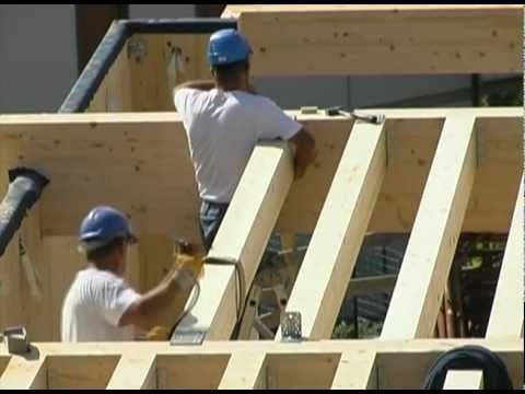 Perch scegliere una casa in legno youtube for Costruzione di case americane