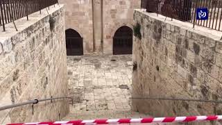 الأردن يرفض قرار الاحتلال إغلاق مبنى باب الرحمة  - (17-3-2019)