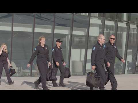 Virgin Galactic Spaceship Cabin Reveal Trailer