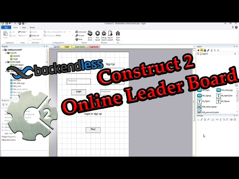 Construct 2 Online Leader Board with Backendless