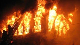 В Петербурге горел жилой шестиэтажный дом