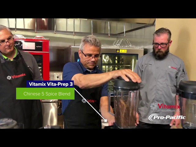 Cooking with Vitamix in the Pro-Pacific Kitchen