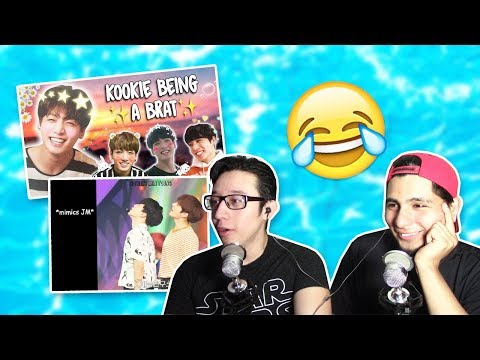 GUYS REACT TO BTS 'Jungkook Being a lil Brat'